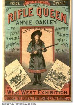 Affiche Annie Oakley