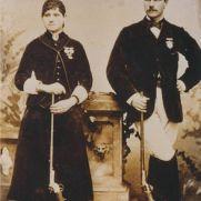 Annie Oakley et Frank Butler